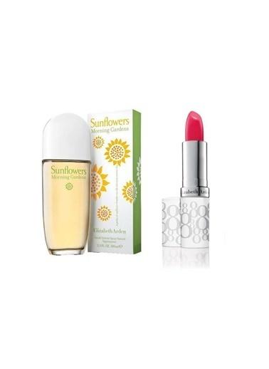Elizabeth Arden Sunflowers Morning Garden Edt 100 ml Kadın Parfüm+Stick 3.7 gr Blush Renksiz